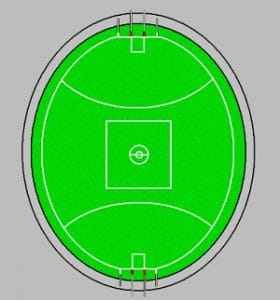 AFL Field oval