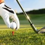 Golf Glove with Referee Stripe