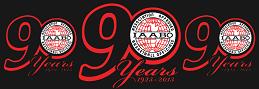 IAABO 90 yr logo june 2016