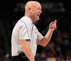 Joey Crawford NBA Basketball Referee