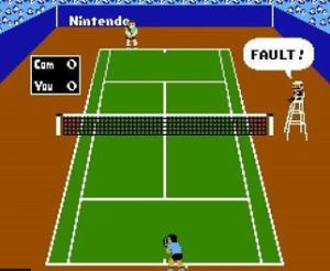 Mario tennis umpire