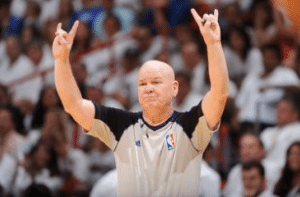 NBA Basketball Referees Joe Crawford