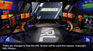 National Rugby League Bunker photo