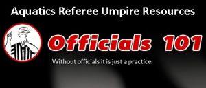 Officials101 header Aquatics