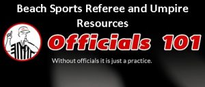Officials101 header Beach Sports