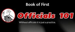Officials101 header Book of First
