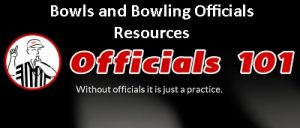 Officials101 header Bowls and Bowling