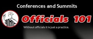 Officials101 header Conferences and Summits