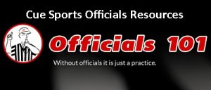 Officials101 header Cue Sports