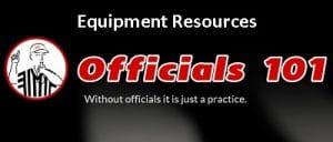 Officials101 header Equipment
