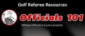 Officials101 header Golf