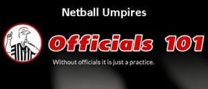 Officials101 header netball