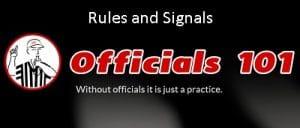 Officials101 heade Rules and Signals