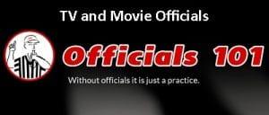 Officials101 header TV and Movie Officials