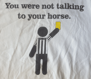 Polo Referee TShirt from Robin Welker Sanchez