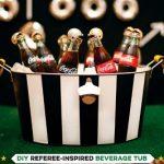 Referee bucket party favor