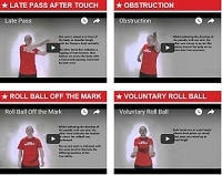 Rugby Touch Signals