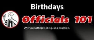 Officials101 Birthdays