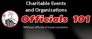 Officials101 header Charitable Events and Orgs