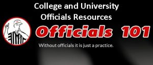 Officials101 header College and University
