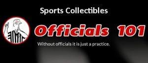 Officials101 header Sports Collectibles