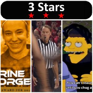 3 Stars 2017 Week 08