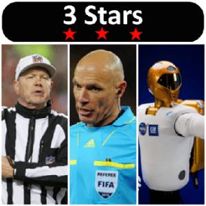 3 Stars Week 6