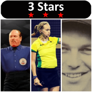 Officials101 3 Stars 2017 Week 12