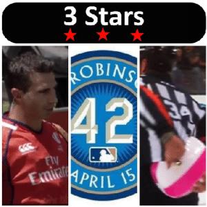 3 Stars 2017 Week 16