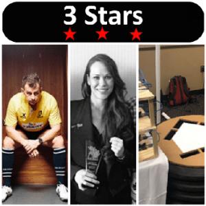 3 Stars 2017 Week 18