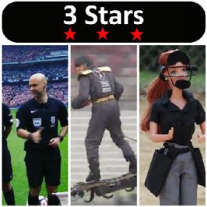 3 Stars 2017 Week 22