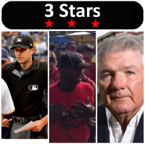 3 Stars 2017 Week 26