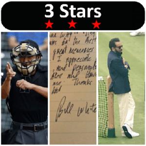 3 Stars 2017 Week 27