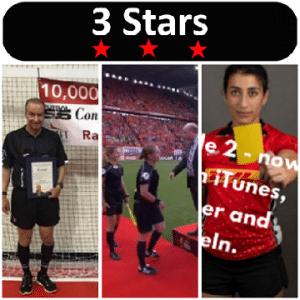 3 Stars 2017 Week 32