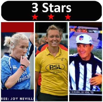 3 Stars 2017 Week 34