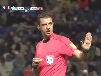 Viktor Kassai football 1st VAR penalty