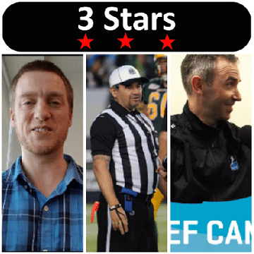 3 Stars 2017 Week 23