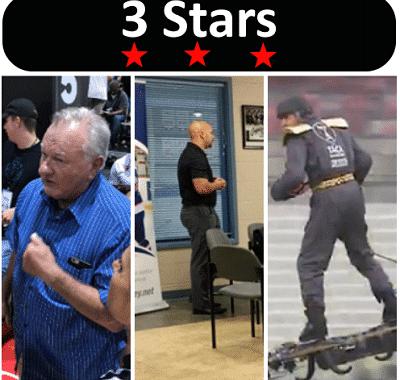 3 Stars 2017 Week 38